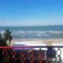 Вид на море с балкона в номере типа SV в Aler Hotel Durres